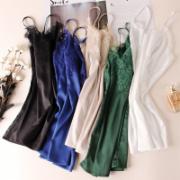 丝绸服装检验   丝绸吊带女外穿网红性感蕾丝花边V领真丝背心西服内搭打底衫上衣   标准GBT18132全套检测
