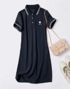 出口澳大利亚服装检测  新西兰服装检测    新款夏季翻领女装潮刺绣裙子   ISO 7211/2   ASTM D3775