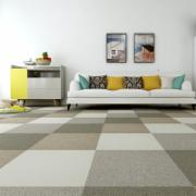 地毯卧室满铺方块拼块拼接地毯客厅家用地毯商用办公室地毯 环保PVC底地垫质量检测  轻工行业标准 QB T 2755-2005 拼块地毯标准