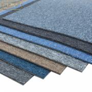 地毯卧室满铺客房间客厅家用灰色方块毯拼接商用拼块毯办公室块毯  地垫质量检测  轻工行业标准 QB T 2755-2005 拼块地毯标准