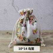 古风香囊空袋驱蚊麻布袋抽绳棉布袋锦囊袋布袋小香包袋子    背提包检测  QB/T 1333-2010标准