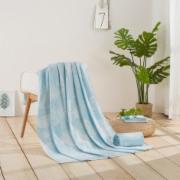 全棉可水洗毛巾被全棉夏凉被夏被薄被子被芯空调被   毛巾毛巾毯质量检测